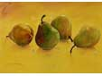 pears in yellow